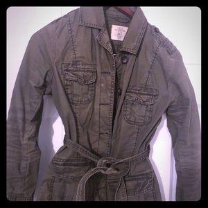H&M utility jacket with belt